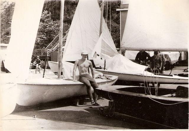 Регата Водник. 1972г.
