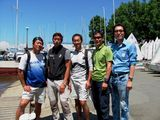 "The Math-race participants: ""Kyeong Nam"" team, South Korea."