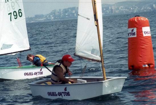 Тренировка юных яхтсменов во Владивостоке
