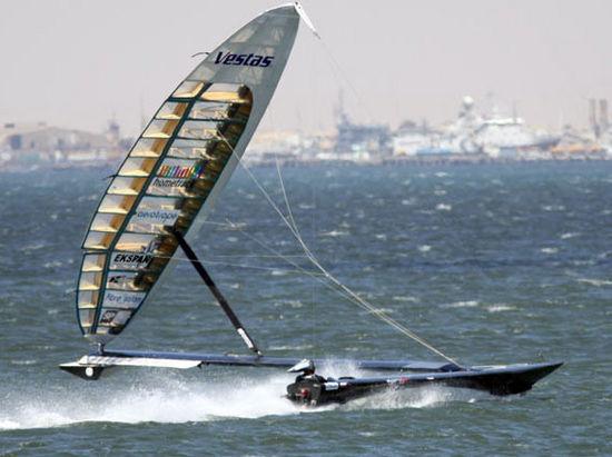 рекорд скорости на лодке