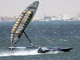 Sailrocket - самая быстрая парусная лодка в мире.