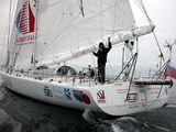 Макси-яхта «Торговая сеть Алые Паруса» финишировала