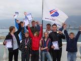 Весенний выезд сборной Приморского края по парусному спорту