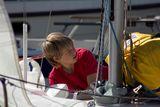 Юные яхтсмены приняли участие в регате «Кубок Юнг»