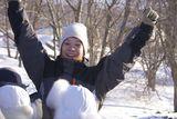 Детский зимний лагерь на о. Русский