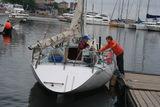 Яхты уходят в детский поход