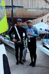 Александр Гайдаенко и Константин Носов стали бронзовыми призёрами Чемпионата России в олимпийских классах яхт