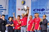 Победители в гонке Циндао - Владивосток регаты Far East Cup приняли участие в торжественном шествии