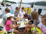 Детский поход на крейсерских яхтах стартовал!