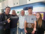 Яхтсмены встретили в аэропорту бронзового призера Чемпионата мира в классе DN Антона Диденко
