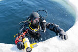 Международные соревнования Ice Dive 2021 прошли во Владивостоке
