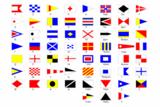 Флаги расцвечивания на день ВМФ